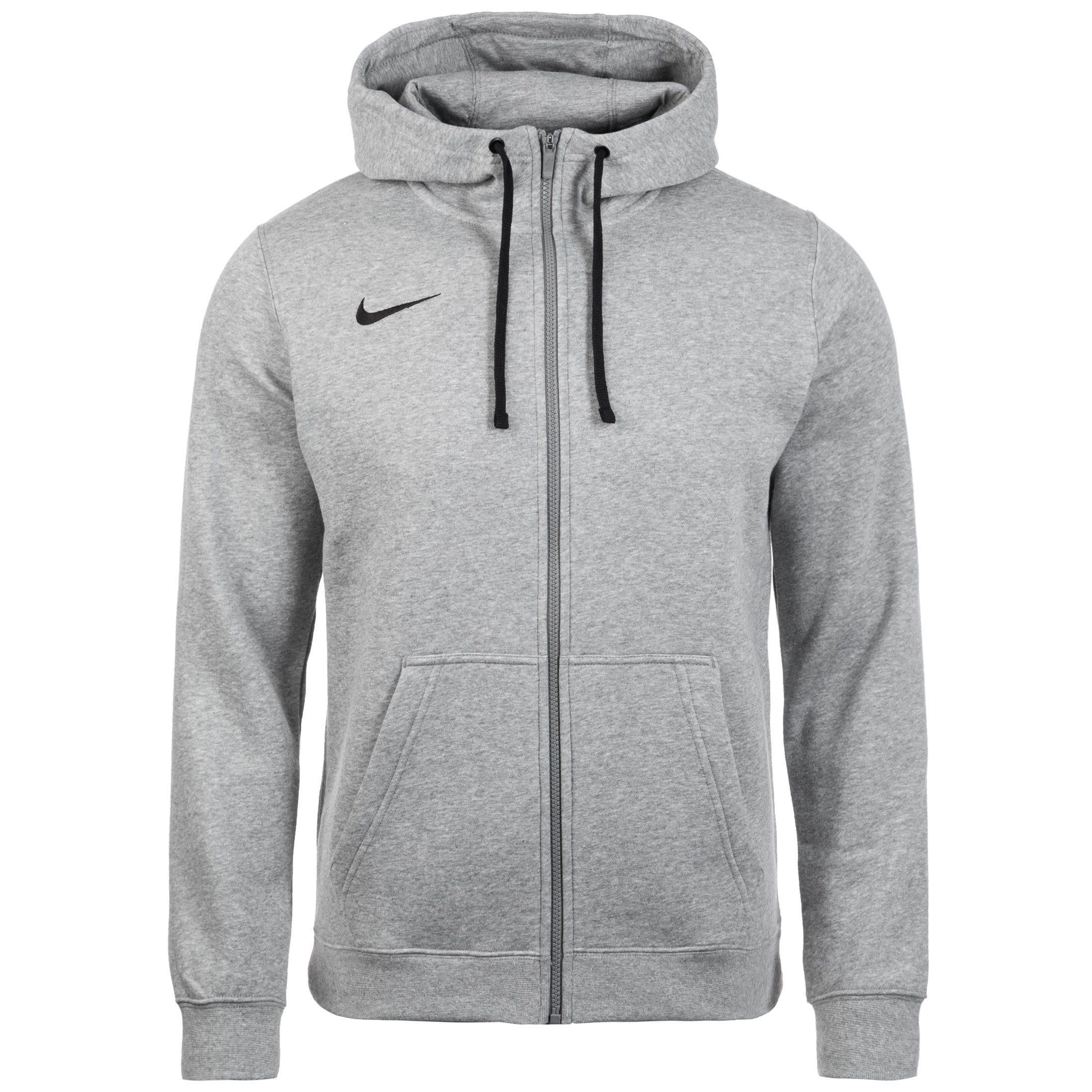 Nike Trainingsjacke Full Zip Flc Club19 | Sportbekleidung > Sportjacken > Trainingsjacken | Grau | Fleece | Nike