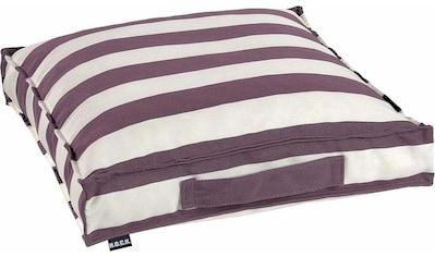 H.O.C.K. Sitzkissen »Classic Streifen Outdoor«, wasser- und schmutzabweisend kaufen