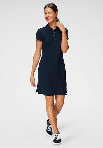Tommy Hilfiger Jerseykleid »HERITAGE SLIM POLO DRESS«, mit Branding Knöpfen & Tommy... kaufen