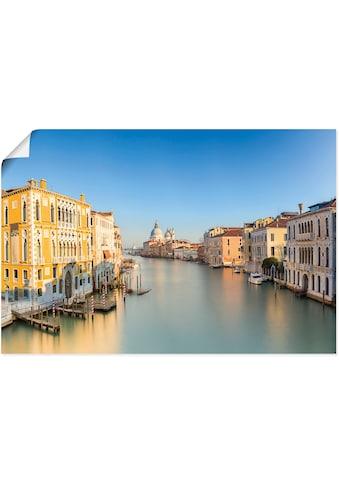 Artland Wandbild »Venedig Fotografie«, Venedig, (1 St.), in vielen Größen &... kaufen