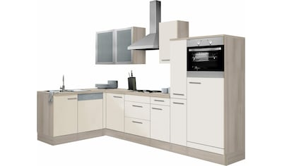 OPTIFIT Winkelküche »Kalmar«, ohne E - Geräte, Stellbreite 300 x 175 cm kaufen
