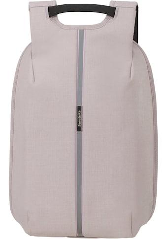 Samsonite Laptoprucksack »Securipak S, stone grey«, Reflektoren kaufen