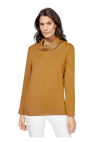 Inspirationen Rollkragen - Pullover aus reiner Baumwolle kaufen