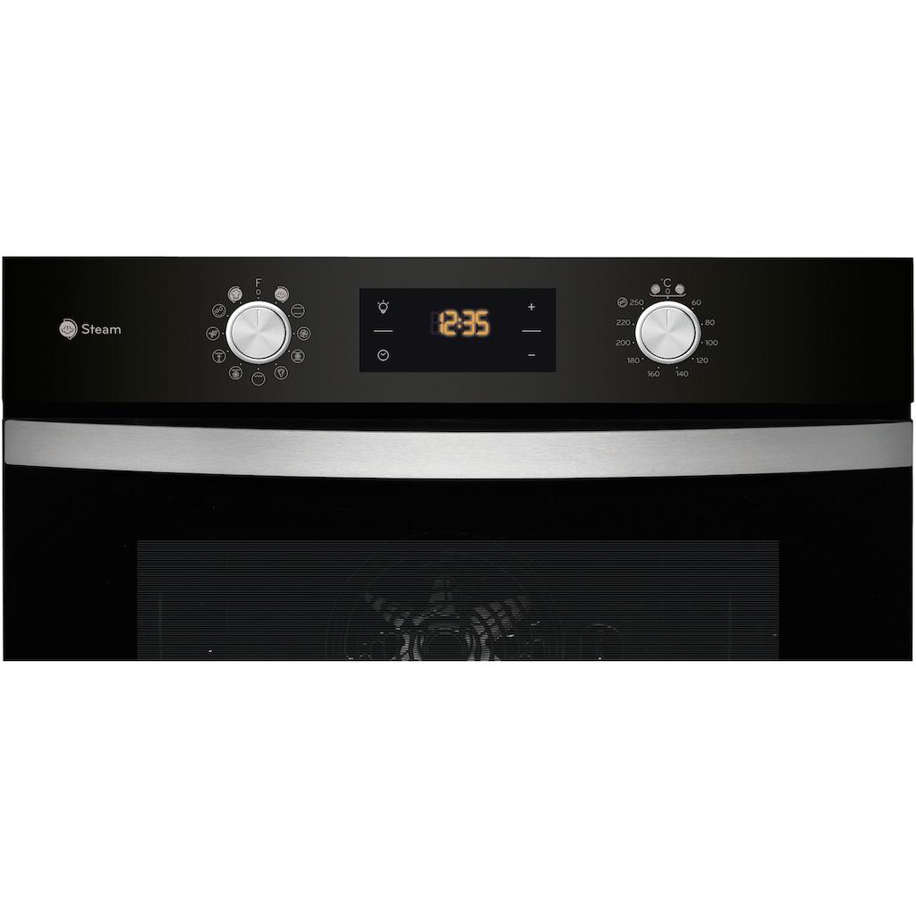 Privileg Backofen-Set »BAKO Turn&Go Steam 600«, PBWK3 JH8S BLG, mit Backauszug, Hydrolyse, mit Dampffunktion und Hydrolyse