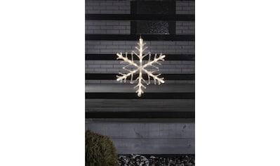 KONSTSMIDE LED Stern, LED-Modul, 1 St., Warmweiß, LED Acryl Schneeflocke, mit 6h... kaufen