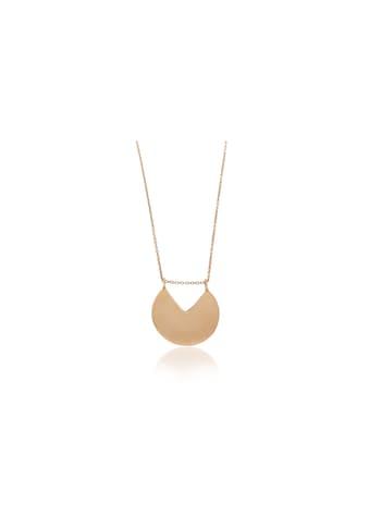 JULES & GENTS Silberkette »Piece of me«, Anker mit Anhänger rosévergoldet kaufen
