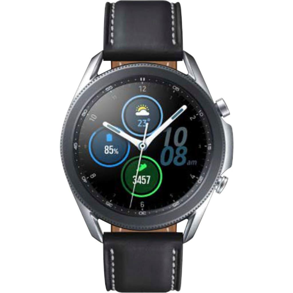 Samsung Smartwatch »Galaxy Watch3, Edelstahl, 45 mm, Bluetooth (SM-R840)«