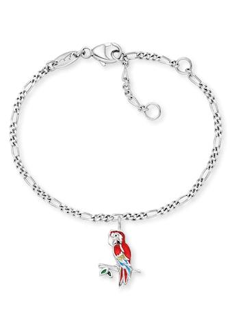 Herzengel Armband »Papagei, HEB-PARROT«, mit Emaille kaufen