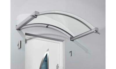 Gutta Bogenvordach »TYP BV/B«, 200x90x25 cm, silberfarben - transparent kaufen