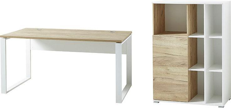 GERMANIA Büro-Set GW-Lioni (Set 2-tlg) | Büro > Büromöbel-Serien | Weiß | Germania