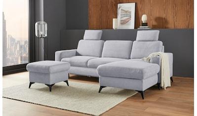 Places of Style Ecksofa »Lolland«, Wahlweise mit Bettfunktion und Bettkasten,... kaufen