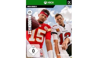Electronic Arts Spiel »Madden NFL 22«, Xbox Series X kaufen