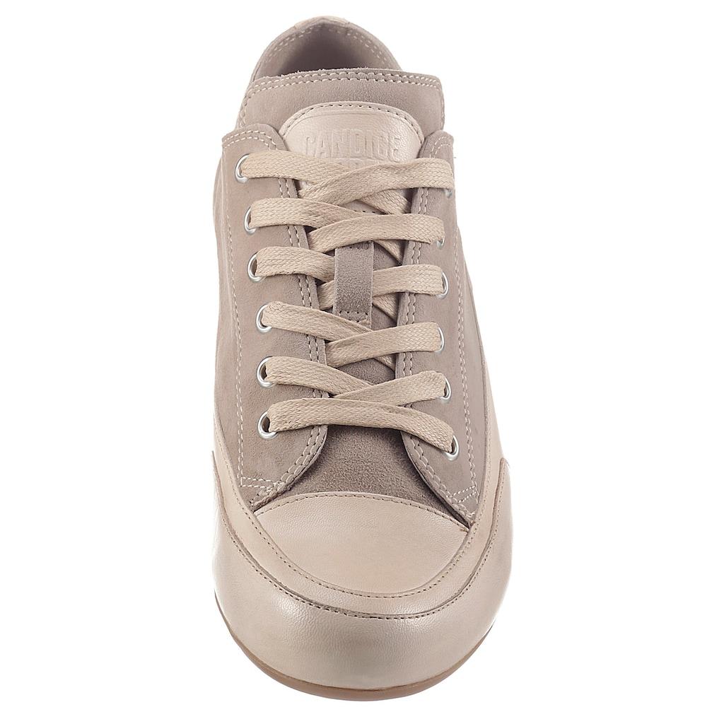 Candice Cooper Sneaker »ROCK«, mit Logoschriftzug in der Laufsohle