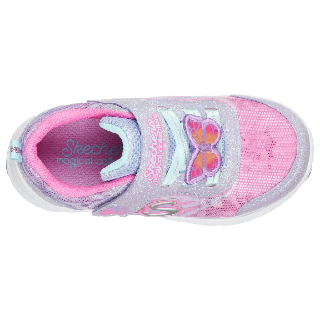 Skechers Kids Sneaker »COMFY FLEX 2.0-LIL FLUTTERS«, mit süßem Schmetterling