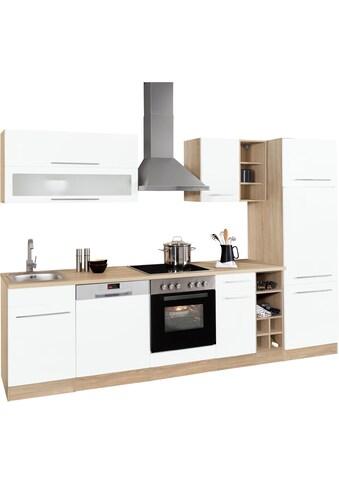 HELD MÖBEL Küchenzeile »Eton«, ohne E - Geräte, Breite 300 cm kaufen