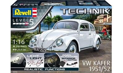 """Revell® Modellbausatz """"Volkswagen VW Käfer 1951/1952 - Technik"""", Maßstab 1:16 kaufen"""