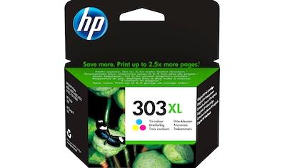 HP Tintenpatrone »hp 303XL Original Cyan, Magenta, Gelb«, (1 St.) kaufen