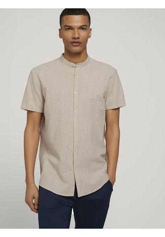 TOM TAILOR Denim Kurzarmhemd »strukturiertes Hemd« kaufen