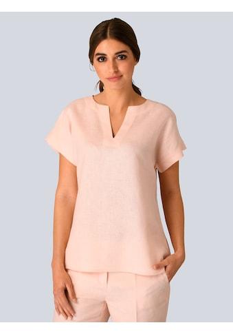 Alba Moda Bluse aus reiner Leinenqualität kaufen
