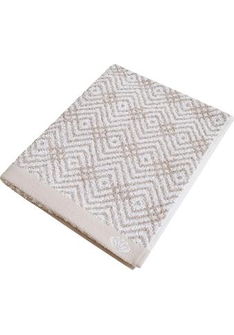 freundin Home Collection Handtücher »Freundin Lifestyle Ethno«, (2 St.), mit... kaufen