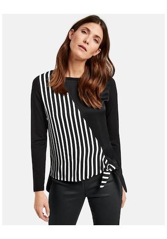 GERRY WEBER T - Shirt 1/1 Arm »Langarmshirt mit Wickeloptik« kaufen