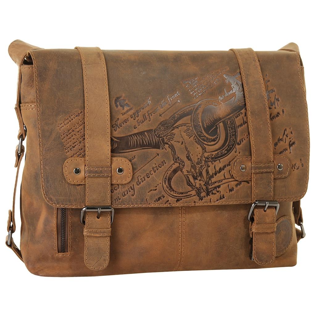 Landleder Messenger Bag