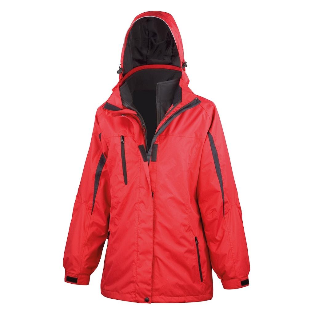 Result 3-in-1-Funktionsjacke »Damen Journey 3 In 1 Softshell-Jacke mit Kapuze«
