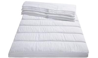 Älgdröm Kunstfaserbettdecke »Nisser«, leicht, Füllung Polyesterfaser, Bezug 100%... kaufen