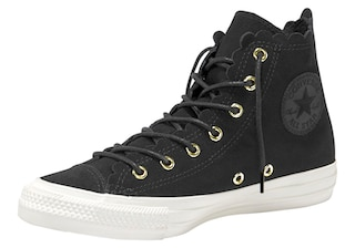 converse sneaker chuck taylor all star hi veloursleder. Black Bedroom Furniture Sets. Home Design Ideas