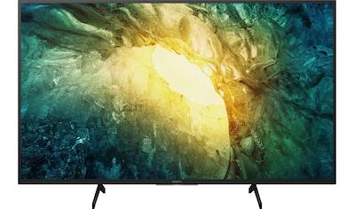 Sony KD49X7055 Bravia LED - Fernseher (123 cm / (49 Zoll), 4K Ultra HD, Smart - TV kaufen