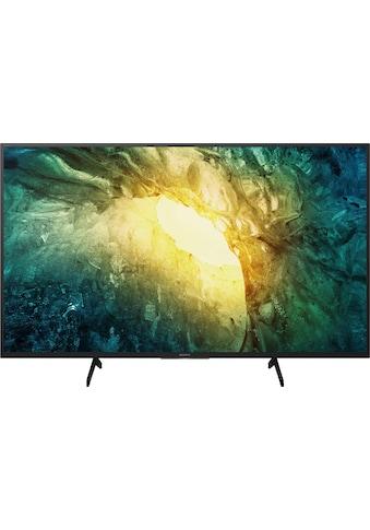 "Sony LED-Fernseher »KD-49X7055«, 123 cm/49 "", 4K Ultra HD, Smart-TV kaufen"