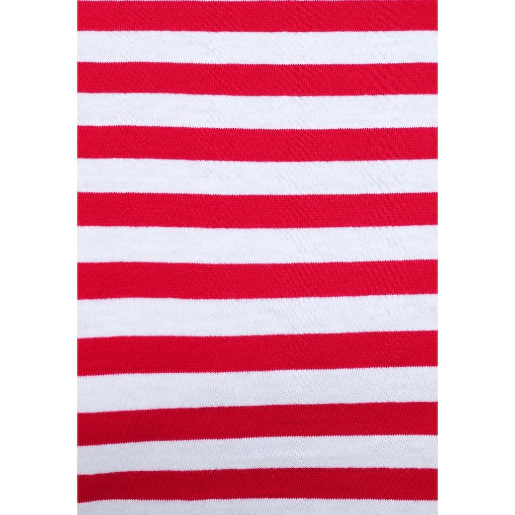 AJC T-Shirt, im lässigen Streifen-Design