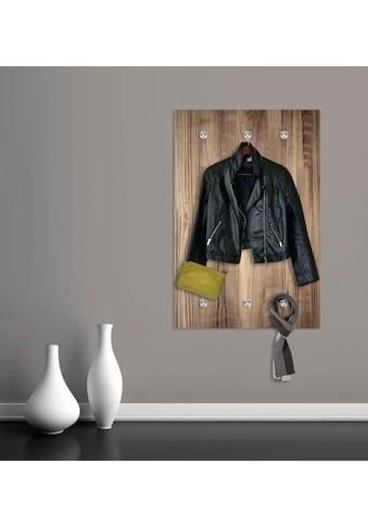 queence Garderobe »Holzoptik« kaufen