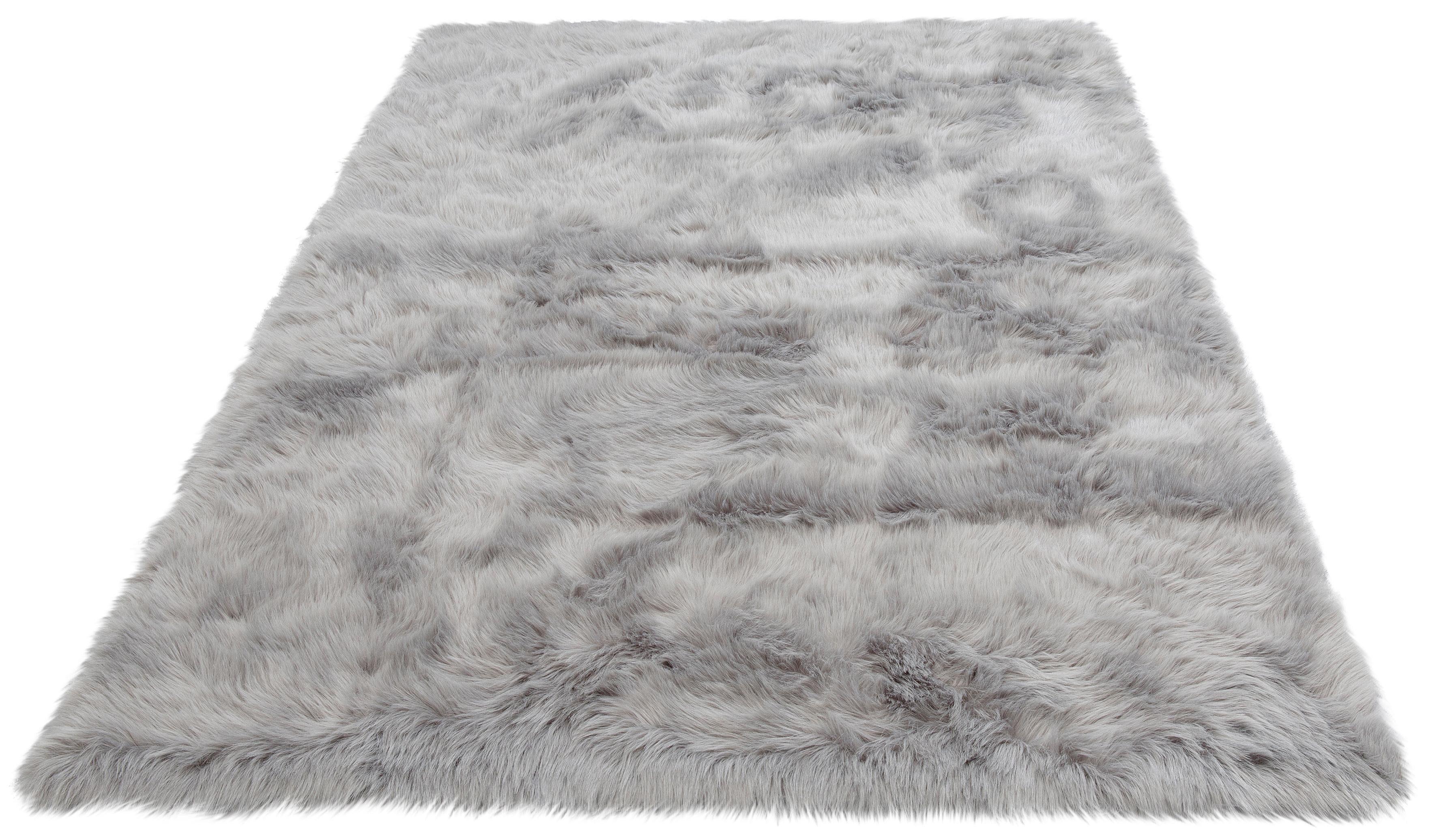Hochflor-Teppich Valeria Home affaire rechteckig Höhe 60 mm gedruckt