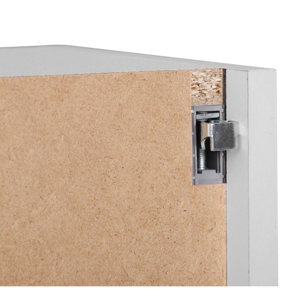 HELD MÖBEL Badmöbel-Set »Jaca«, (4 St.), Badmöbel-Set mit hochglanz Fronten