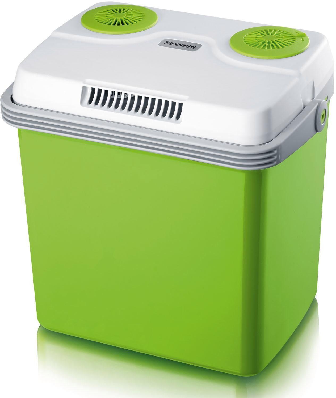 Severin Elektrische Kühlbox KB 2923, 28 Liter EEK A++ grün Camping-Kühlboxen Camping Schlafen Outdoor Kühlboxen