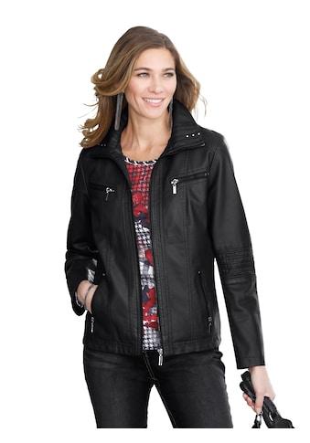 Classic Basics Jacke in Leder - Optik kaufen