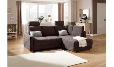 DELAVITA Ecksofa »Casella Luxus«, mit Bettfunktion und Bettkasten, mit besonders... kaufen
