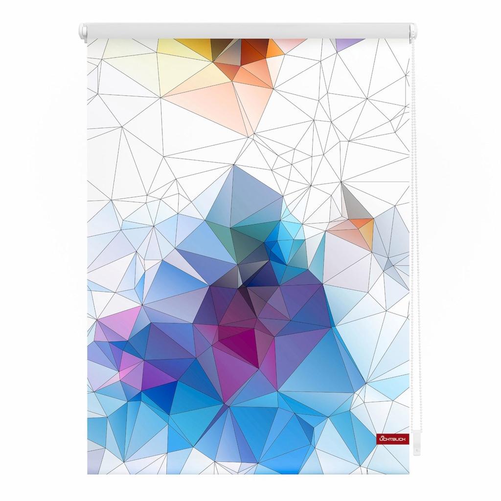 LICHTBLICK ORIGINAL Seitenzugrollo »Klemmfix Motiv Grafik«, Lichtschutz, ohne Bohren, freihängend, bedruckt