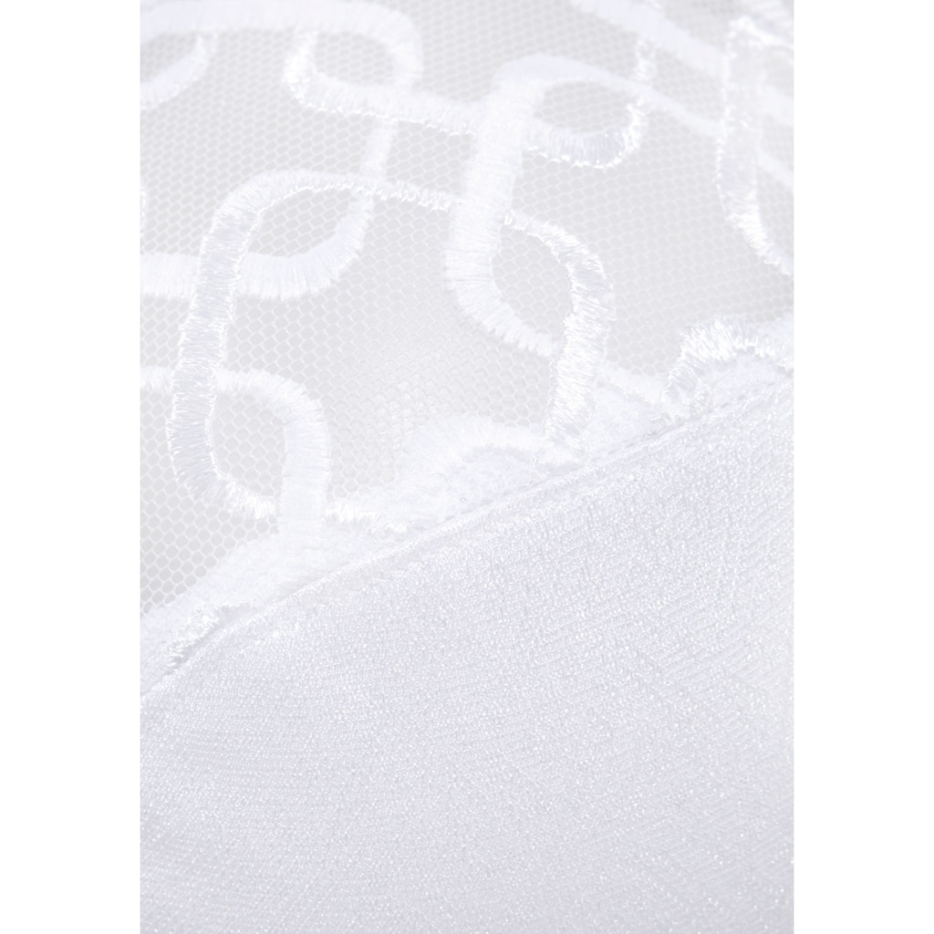 Triumph Minimizer-BH »Letizia W01«, leicht transparentes Obercup mit graphischer Spitze