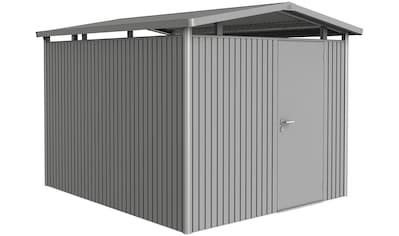 BIOHORT Stahlgerätehaus »Panorama P5 DT«, quarzgrau - metallic, BxT: 273x318 cm kaufen