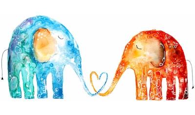 Wandtattoo »Hagenmeyer - Elefantenliebe« kaufen