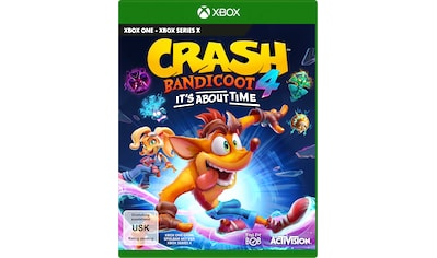 Activision Spiel »Crash Bandicoot 4 - It´s About Time«, Xbox One kaufen