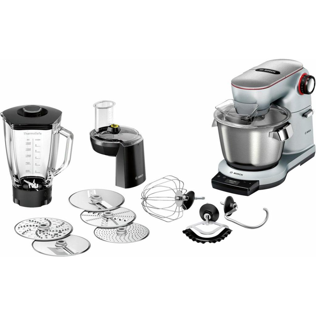 BOSCH Küchenmaschine »OptiMUM MUM9DT5S41«, 1500 W, 5,5 l Schüssel, extrastarker 1500-Watt-Motor