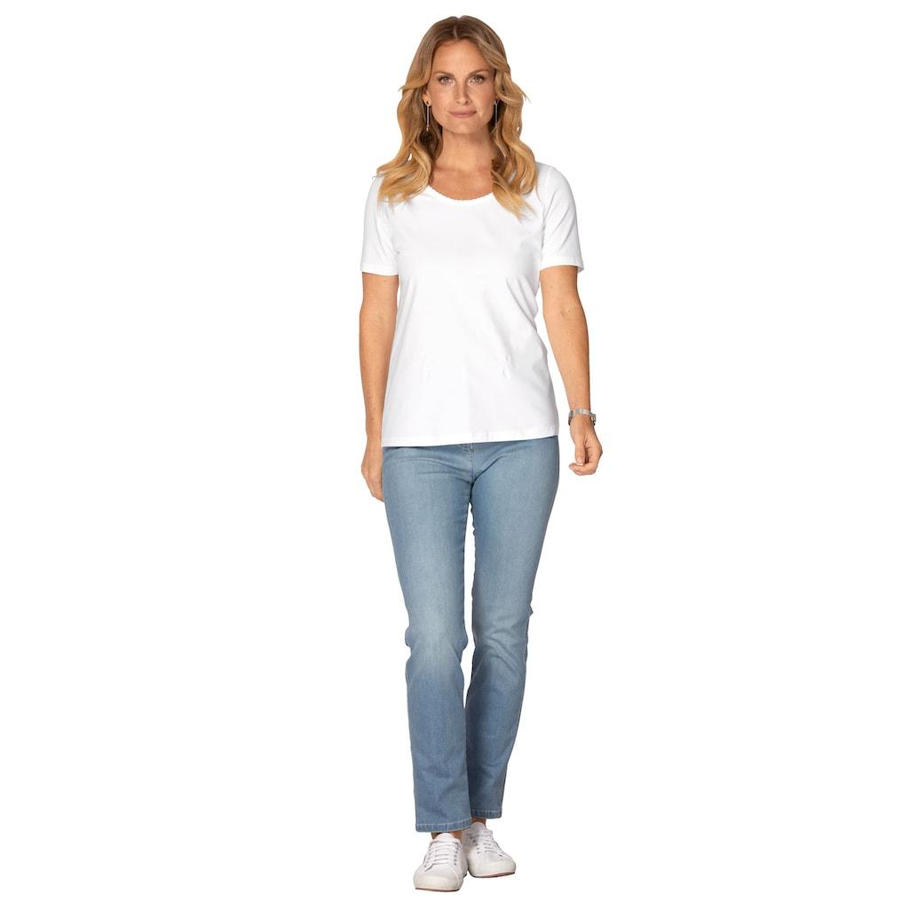 Mona Shirt mit Pima Baumwolle